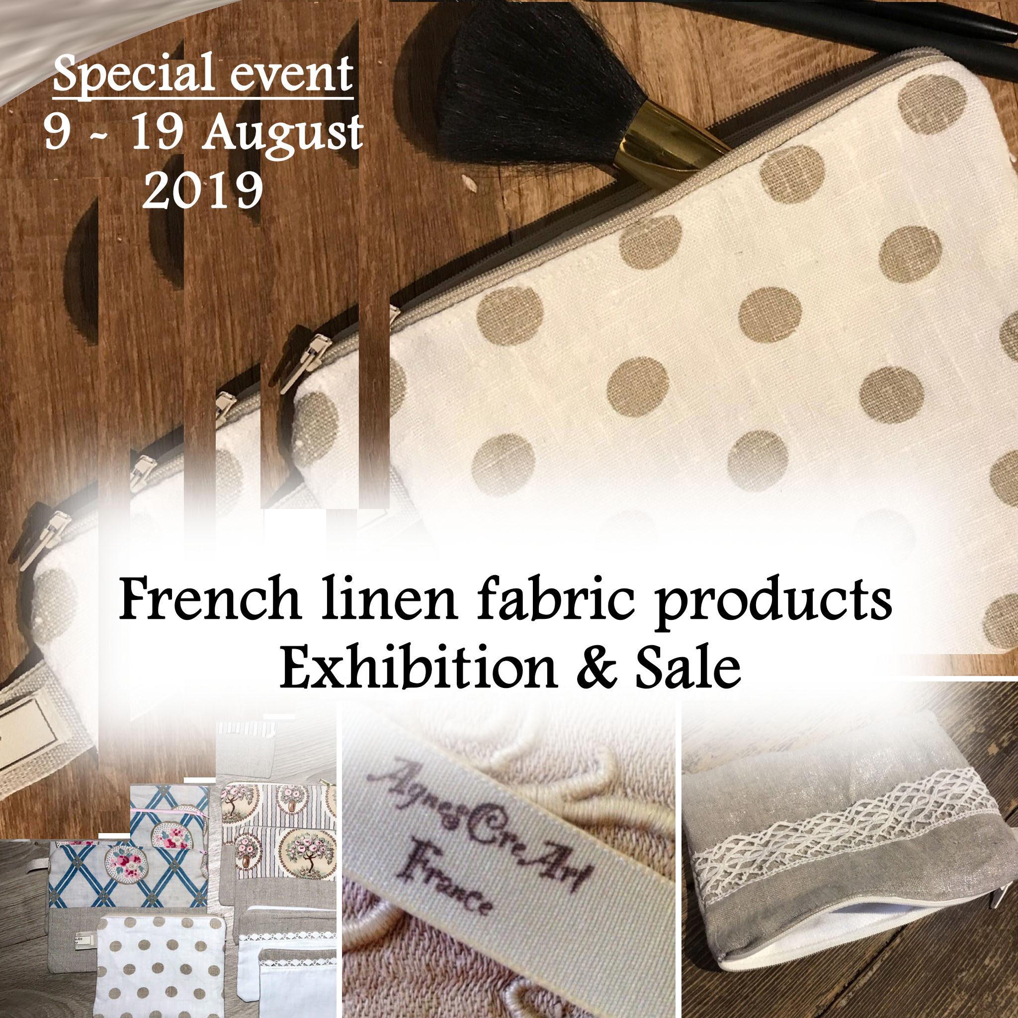 French Linen fabric products - Galleri Yamanashi